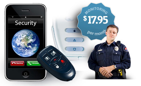 security monitoring for less than 30 dollars a month